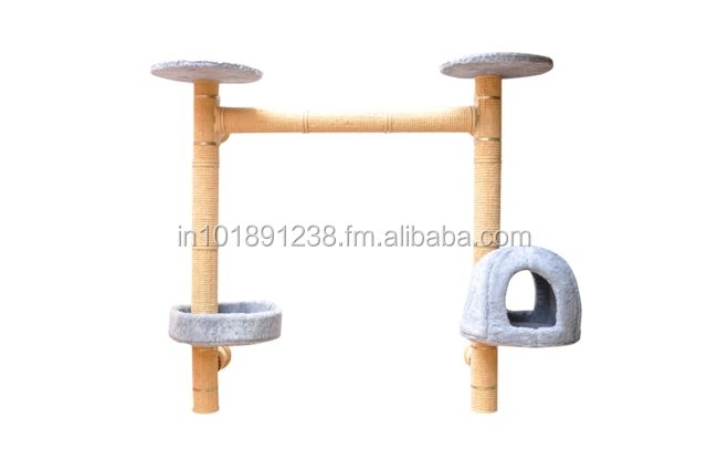 NO 8 WALL MOUNTED CAT TREE ( Catwalk system)