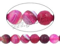 Natural Lace Agate Beads Round more sizes for choice & faceted rose Hole:Approx 1-1.5mm Sold Per Approx 15 Inch Strand