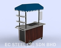 Grilled food kiosk KS - 11016
