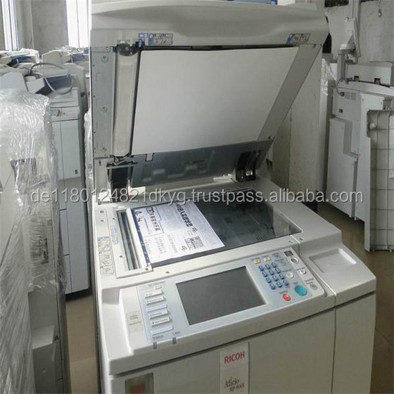 Ricoh Aficio MP8001 Copier Printer Machine Used Photocopiers