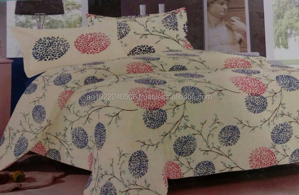 Swaali 100% Cotton Quality Product Bed Sheets Design No.31
