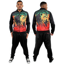 Latest Printed Sublimation Tracksuit Men Sportswear Casual Wholesale