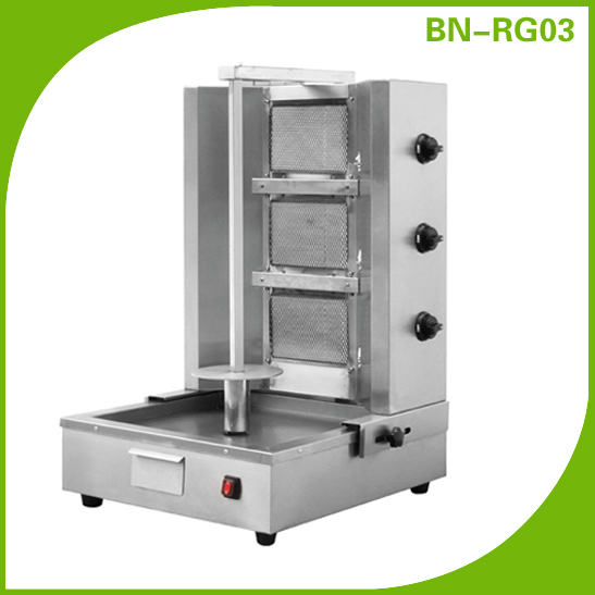 Stainless Steel Gas Shawarma Machine,Shawarma Grill BN-RG03