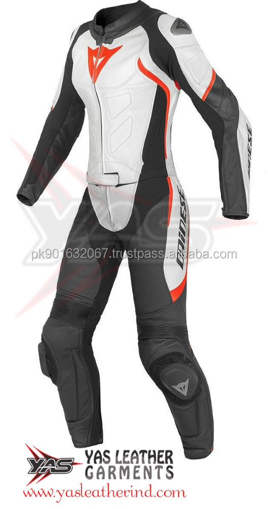 High Quality Ladies Motorbike Leather Racing Suit-Two Piece Motorcycle Leather Suits- Avro Div. D1 2-Teiler Damen Lederkombi
