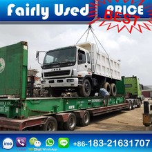 Low Price Used Second Hand Isuzu Dump Tipper Truck for sale