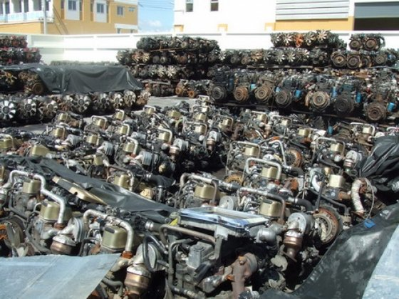 Used Japan Diesel Engine and Spare Parts