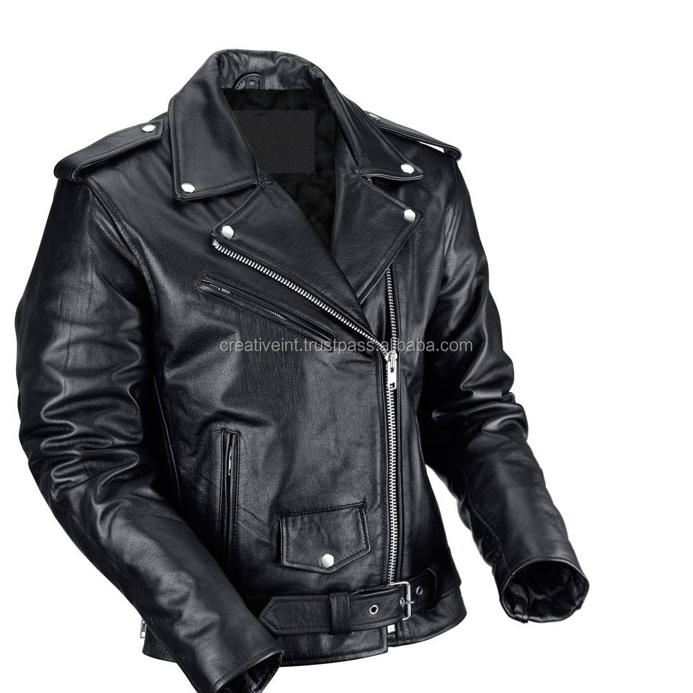 custom leather jacket/OEM manufacture winter clothing customized outdoor down coat men leather jacket/pakistan leather jacket