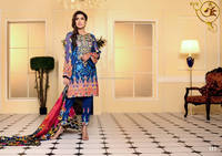 Designer Embroidered Chiffon Suits