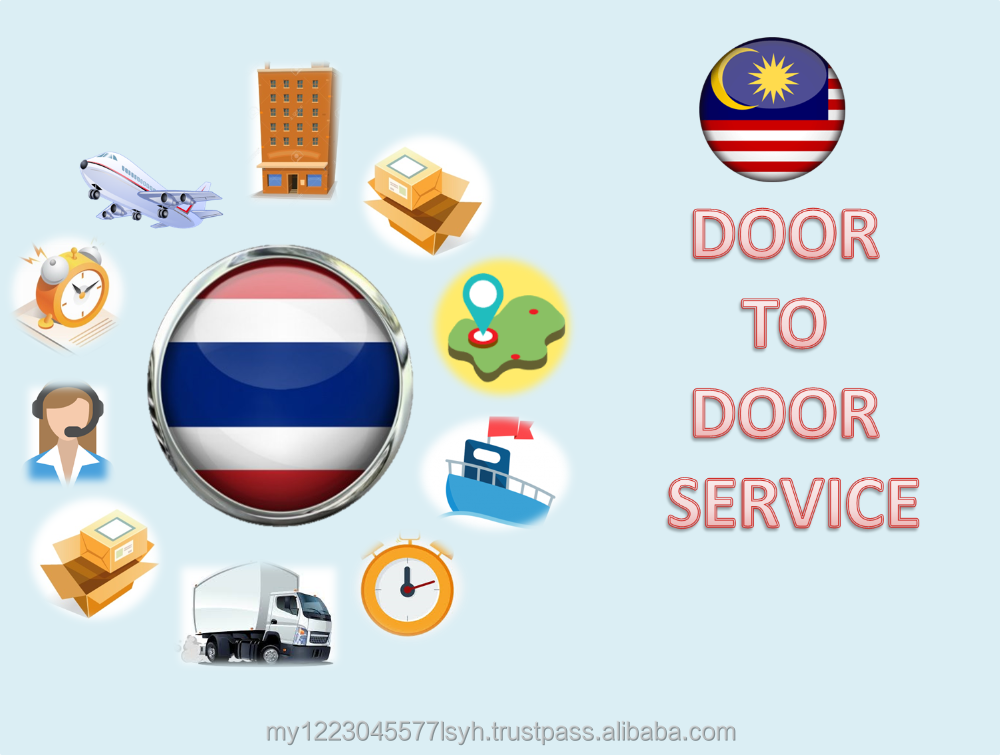 Delivery Thailand to Malaysia Door to Door Express Small Parcel Import Export
