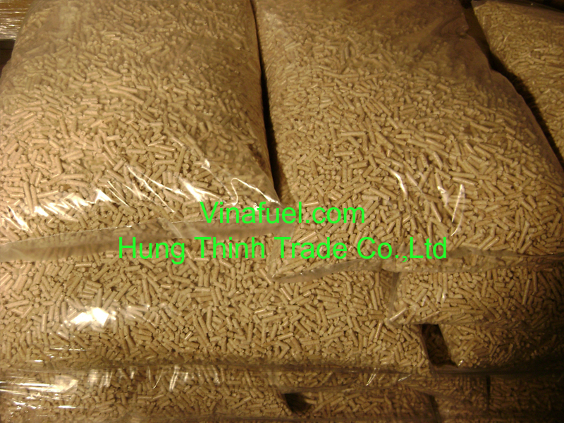Biomass Fuel 15KG Bags Pure Sawdust Wood Pellet