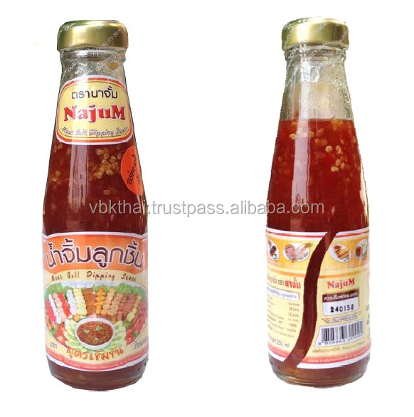 Thai Sweet Chili Sauce Meatball Dipping Sauce With Enrichment of Herbs and Spicies