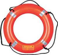 Ring Buoy with Reflective Tape 30 In