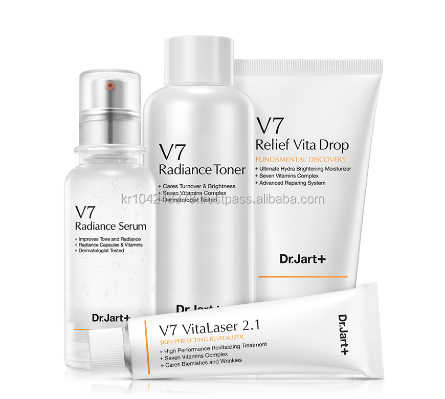[ Dr.Jart ] Korea Cosmetics beauty care Face Skin Cream V7 Toning Light,VitaLaser 2.1,Serum,Cleaner foam all line products