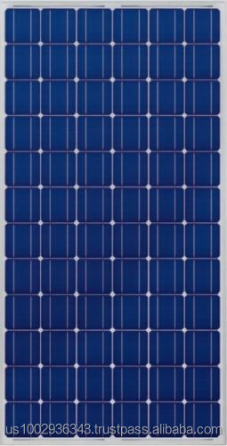 Topint 190 W Monocrystalline Photovoltaic PV Solar Panel Module with MC4 Connectors