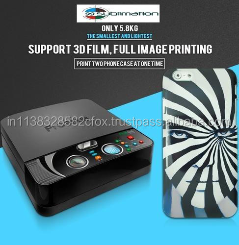 3D Sublimation Mini Mobile Phone Cases and Covers Printer