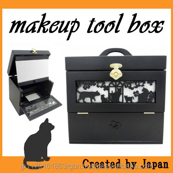 Cost-effective and Best-selling makeup vanity case with tray and mirror at reasonable prices