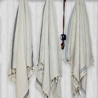 DELFIN Peshtemal 100% Cotton Turkish Towel