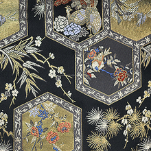 Beautiful Japanese Kimono Fabric With Genuine Kyoto Textiles Made in Japan, Traditional Japanese Fabric Pictures