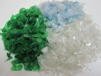 PET COLD WATER WASH FLAKES GREEN/Green pet flakes/Pet Bottle Flakes