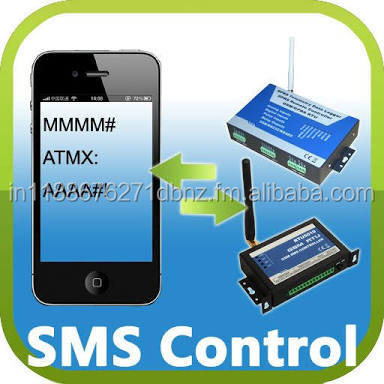 automated electrical switches which turn off with SMS