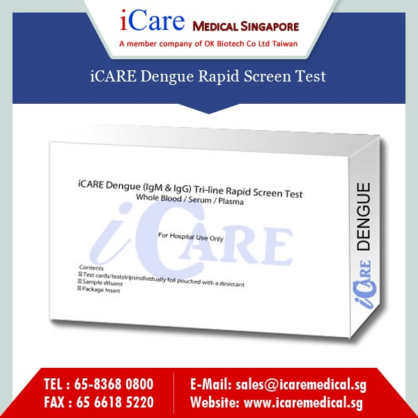 Dengue NS1 Antigen Test Medical Device High Quality Rapid Dengue IgG IgM Test Kit