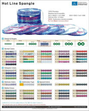 spangle sequin products for automatic sequin machine