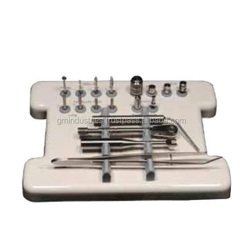 Dental Implants Tools Kits Drills set Guided Surgery Instruments