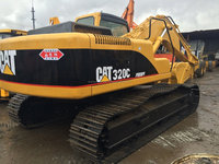 Japanese 20T Used caterpillar 320c Excavator (0.8-1cbm ) for heavy equipment