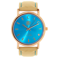 Calgary Watches Coral Bay Calgary watches, blue, golden and white