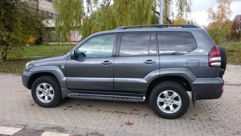USED Toyota Land Cruiser D-4D automatic LHD