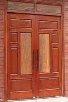 100 % Solid wood door