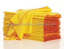 Yellow flannel duster cloth