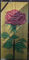 Vertical beautiful doorway bamboo bead single rose