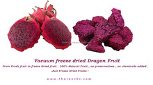 BEST SELLING VACUUM FREEZE DRIED RED DRAGON FRUIT - DRIED FRUIT SNACKS FROM THAILAND