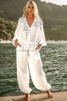 Latest White beach Jumpsuit