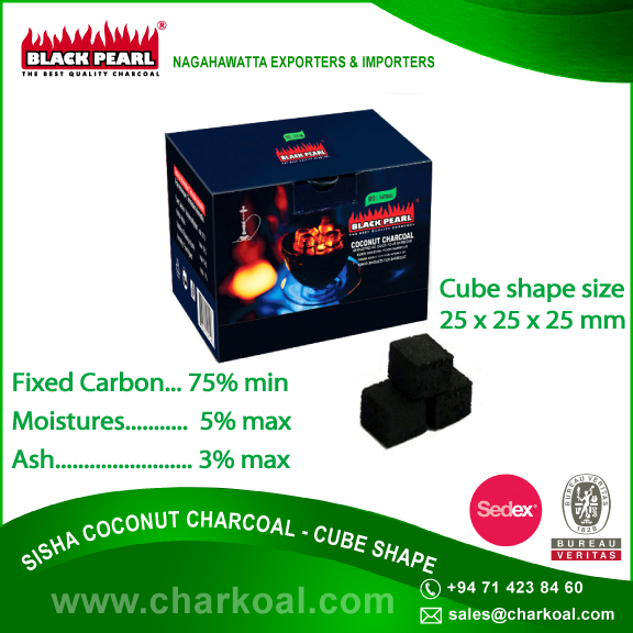 BBQ Coconut Shell Charcoal for Kiln Heater and Oven