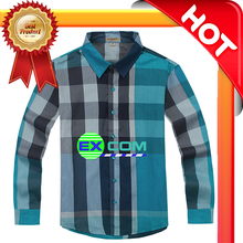 Delivery Men's Plaid Collar Dress Shirt