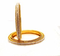 real look gold plated bangles