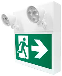 Running Man Exit , Combo Emergency lighting