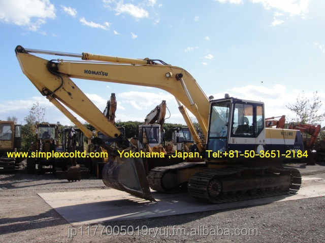 Used Komatsu PC200-5 Excavator Japan (PC200 PC210 PC220 PC220LC PC228US PC228UU PC100 PC100-5 PC120 PC120-5 PC128US
