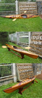Wooden handmade Real Kayak GRC04