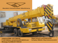 used XCMG QY50 truck crane for sale in Shanghai made in China in good condition