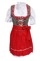 Bright mini dirndl,trachten dirndl,german dirndl,drindl short,dirndls2015 (Traditional Garments)