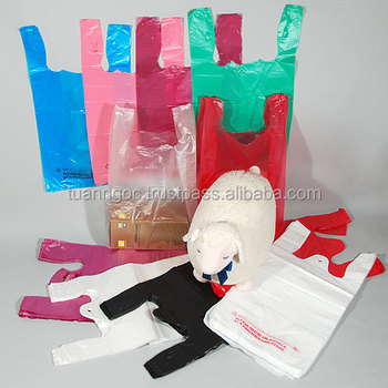 SALES OFF Recycled HDPE singlet plastic bag