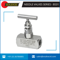 Stainless Steel Needle Valve 10000 PSI Manufacturer