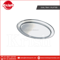 Most Standard Stainless Steel Oval Tray / Platter