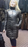 % genunie leather woman jacket made in turkey