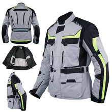 Textile Motorbike Jacket / Breathable Reissa Waterproof Racing Motorcycle Jacket / Motorbike Clothing