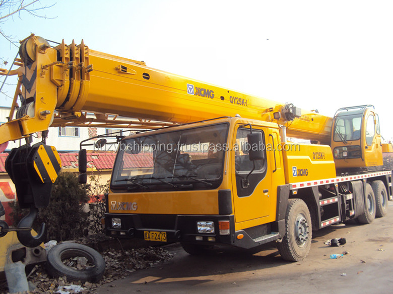 Cheap price 16ton 25ton 50 ton Xcmg Truck Mounted Crane/Used Truck Crane 25ton for sale!
