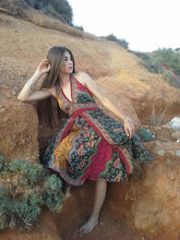 magic skirt wrap on assorted prints pushkar beachwear